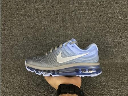 Nike Air Max 2017 Gris/Bleu 849560-002 pour Femme