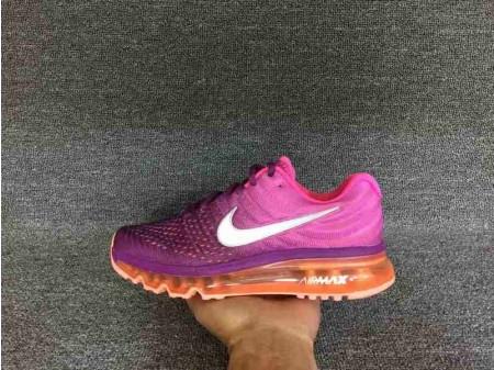 Nike Air Max 2017 Violette/Rose/Orange pour Femme