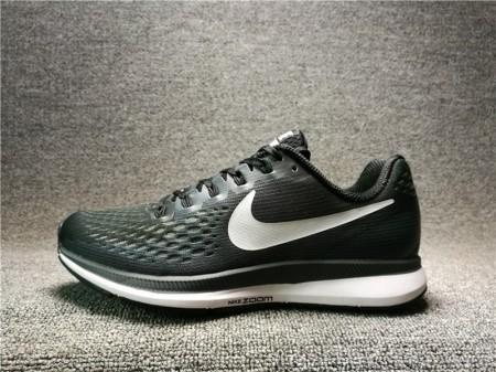 Nike Air Zoom Pegasus 34 Noir/Blanc Gris Foncé 880555-001 pour Homme