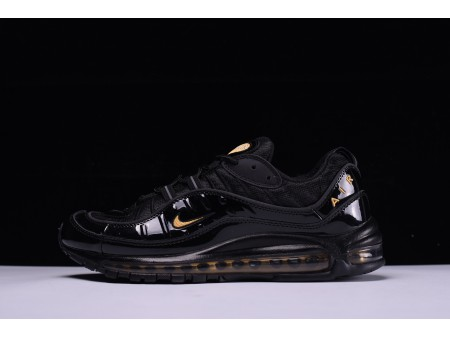 Nike Air Max 98 Noir Jaune 640744-080 pour Homme