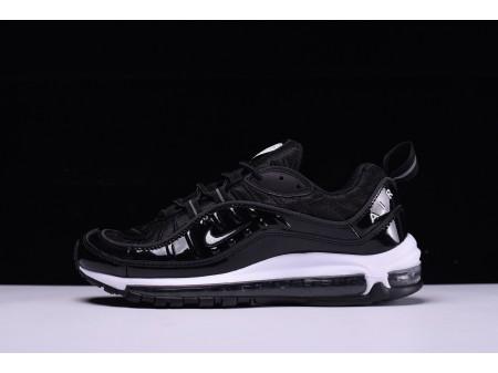 """Nike Air Max 98 """"Noir Blanche"""" 640744-010 pour Homme et Femme"""