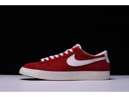 Nike Blazer Low Rouge 488060-610 pour Homme et Femme