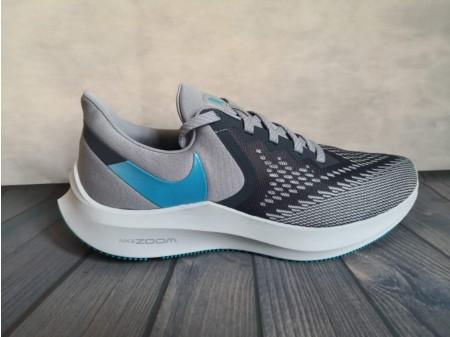 Nike Zoom Winflo 6 Obsidian Nebel/Blaue Lagune AQ7497-400 Herren