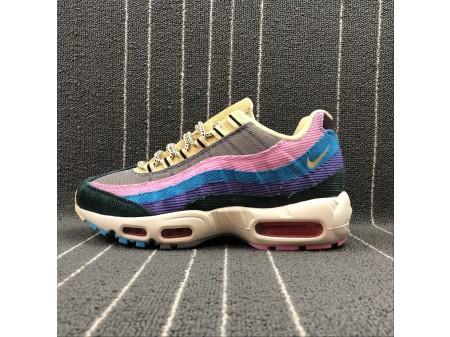 Sean Wotherspoon x Nike Air Max 95 OG QS AJ4219-600 Herren Damen