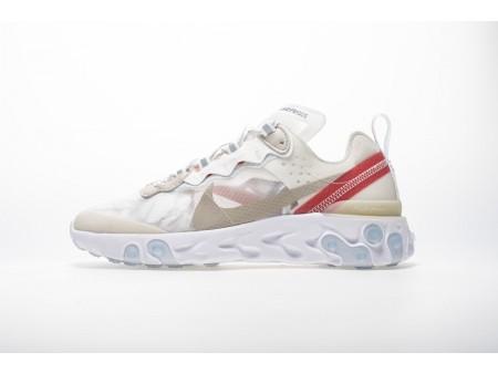 Nike React Element 87 Segellichtknochen AQ1090-100 Herren Damen