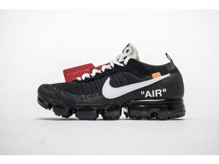 OW Off-White x Nike Air VaporMax AA3831-001 Alle schwarzen Herren Damen