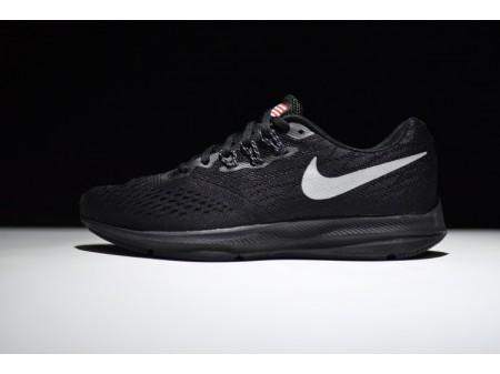 Nike Zoom Winflo 4 Schwarz Grau 898466-999 Herren