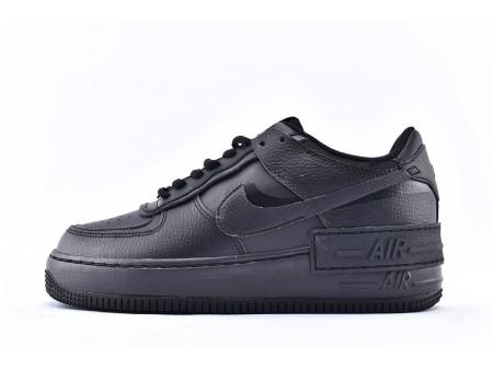 Nike Air Force 1 Shadow Low Alle Schwarz CI0919-001 Herren Damen