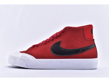 Nike SB Blazer Zoom Mid XT Universität Rot/Schwarz 876872-607 Herren und Damen
