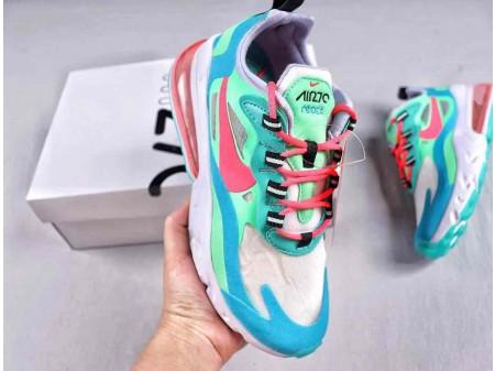 Nike Air Max 270 Reagiere psychedelische Bewegung AT6174-300 Damen
