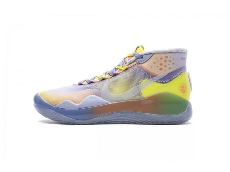 Nike Zoom KD12 EYBL EP Gelb Lila Mehrfarben CK1201-900 Herren