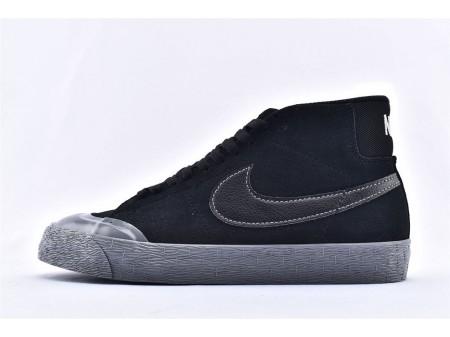 Nike SB Blazer Zoom Mid XT Schwarz Esche/Mtlc Zinn 876872-006 Herren und Damen