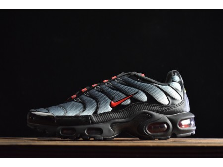 Nike Air Max PLUS TXT Schwarz Grau Farbverlauf CI2299-001 Herren