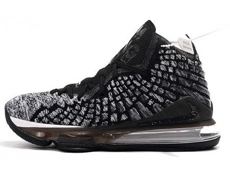 Nike LeBron 17 'Ashes' Schwarz/Weiß Herren Damen