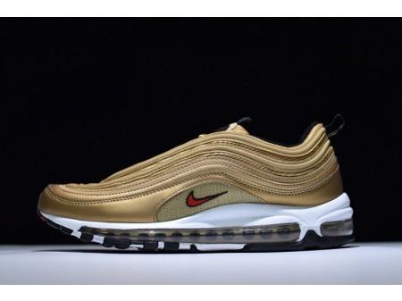 Nike Air Max 97 Qs Metallic Gold 884421-700 für Herren und Damen