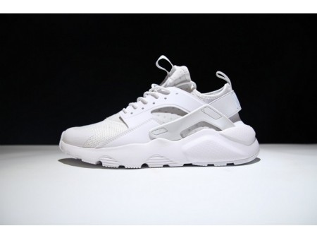 Nike Air Huarache Run Ultra Dreifach Weiß 819685-101 für Herren und Damen