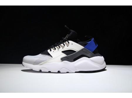 Nike Air Huarache Run Ultra Weiß Blau 819685-100 für Herren und Damen