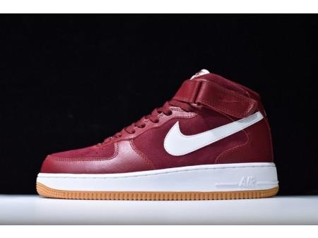 Nike Air Force 1 MID '07 Team Rot und Weiß 315123-608 für Herren