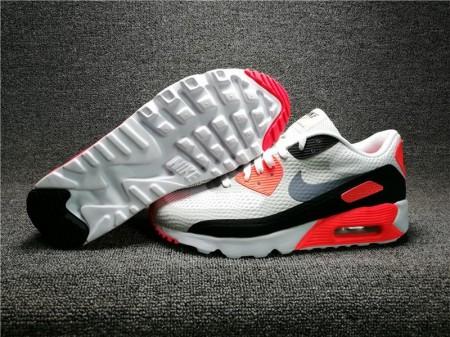 Nike Air Max 90 Weiß Schwarz Orange für Herren