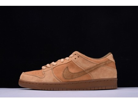 Nike Sb Dunk Low Qs Reverse Forbes Weizen 883232-700 für Herren und Damen