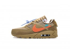 """OW Off White x Nike Air Max 90 """"Desert Ore"""" AA7293-200 Hombres Mujeres"""
