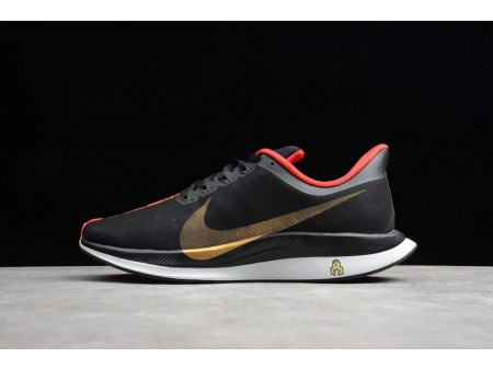 Nike Zoom Pegasus 35 Turbo CNY Año Nuevo Chino Negro Rojo Universidad BV6656-016 Hombres