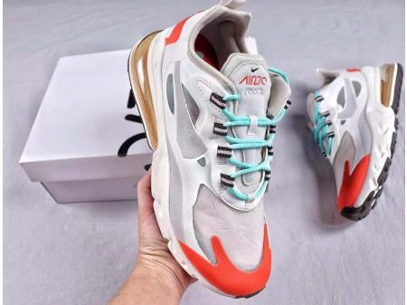 Nike Air Max 270 React AT6174-002 Hombres y Mujeres