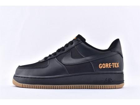Nike Air Force 1 Low Gore-Tex GTX Negras/Light Carbon CK2630-001 Hombres