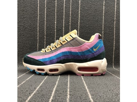 Sean Wotherspoon x Nike Air Max 95 OG QS AJ4219-600 Hombres Mujeres