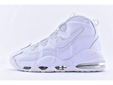 Nike Air Max Uptempo 95 Todas Blancas 922936-100 Hombres