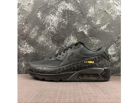 Nike Air Max 90 ESSENTIAL Negras/Amarillas BQ4685-001 Hombres
