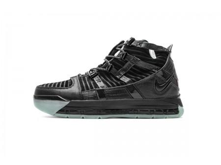 Nike Zoom Lebron III QS Negro Mes AO2434-010 Hombres