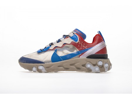 Undercover x Nike React Element 87 Light Beige Chalk BQ2718-200 Hombres Mujeres