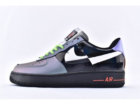 Nike Air Force 1 Low '07 Joker Negro Ugly Color Break Fluorescence Hombres Mujer
