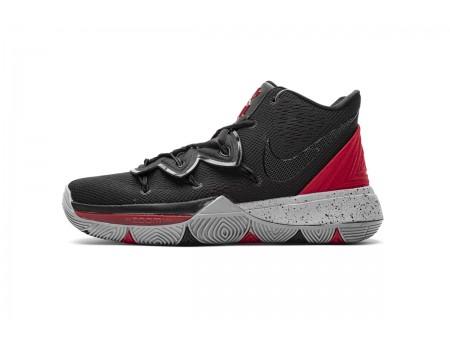Nike Kyrie 5 EP Negro Rojo Universidad AO2919 600 Hombres