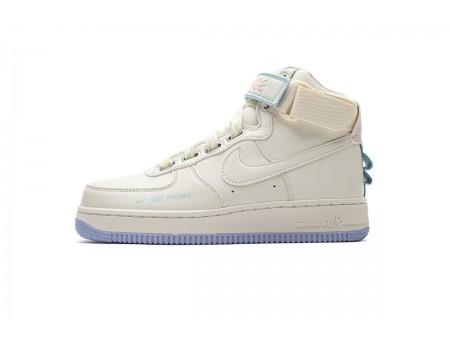 Nike Air Force 1 Hi UT Sail Lavender Mist CQ4810-111 Mujer