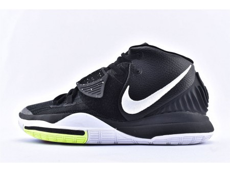 Nike Kyrie 6 EP Negras Blancas Verdes BQ9377-001 Hombres