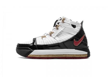 Nike Zoom Lebron III QS Negras Blancas AO2451-101 Hombres