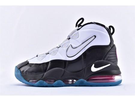 Nike Air Max Uptempo 95 Spurs South Beach Negras/Blancas/Azules/Rosas 311090-004 Hombres