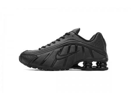Nike Shox R4 Todas Negras BV1111-001 Hombres