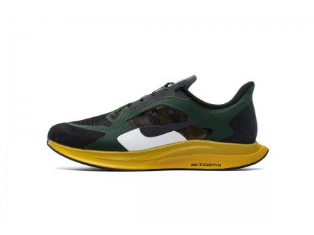 Nike Zoom Pegasus 35 Turbo Gyakusou Fir Negro Amarillo Verde BQ0579-300 Hombres