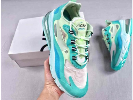 Nike Air Max 270 React Hyper Jade Frosted Spruce AO4971-301 Hombres y Mujeres