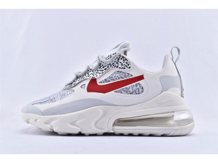 Nike Air Max 270 React Light Graphite Beige/Leopard Print CT2535-001 Mujer