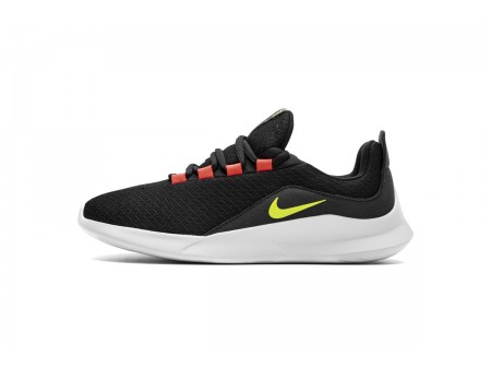 Nike Viale Negro/Volt/Solar Rojo AA2181-001 Hombres Mujeres