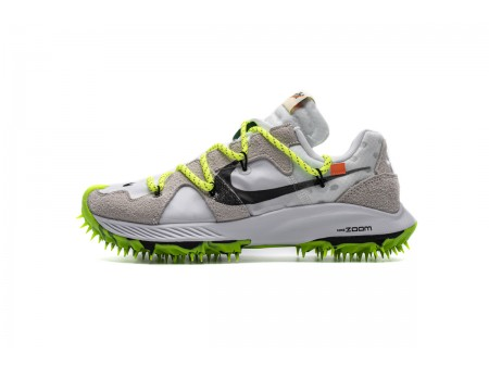 Off White X Nike Zoom Terra Kiger 5 OW Blanco CD8179-100 Hombres Mujer