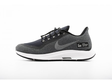Nike Air Zoom Pegasus 35 Shield Negro Cool Gris AA1643-001 Hombres Mujer