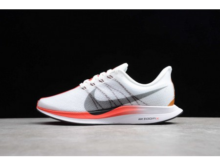 Nike Zoom Pegasus 35 Turbo London Marathon Blancas Negras Speed Rojas CQ6436-100 Hombres