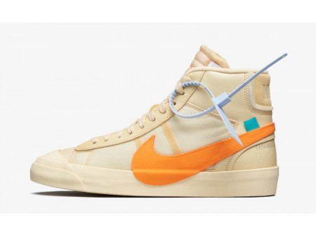"""Off White x Nike Blazer Mid """"All Hallows Eve"""" AA3832-700 Hombres y Mujeres"""