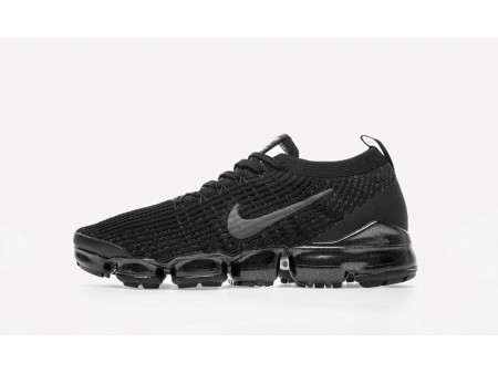 """Nike Air VaporMax Flyknit 2019 3.0 """"Triple Negro"""" Hombres y Mujeres"""