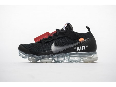 Off White x Nike Air VaporMax Negro AA3831-002 Hombres Mujeres